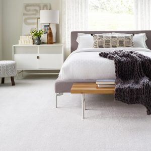 White interior of bedroom | McCurleys National Flooring